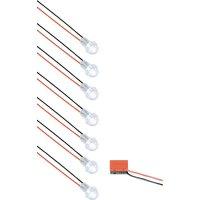 Vestavné LED světlo hvězdná obloha QLT A40K7SPOT1BB, bílá, 5 V, bez zdroje