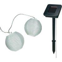 Solární LED řetěz s lampióny, 12-C130-SL, 10 ks