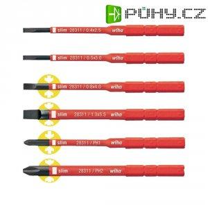 Sada vyměnitelných plochých/křížových VDE Wiha SoftFinish electric 36088, 75 mm