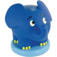 Slon s projekcí hvězdné oblohy a hudebním doprovodem Ansmann, 1800-0015-510, modrá