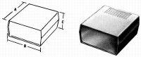 Krabička plastová KP12 (Z1) 197x188x70mm