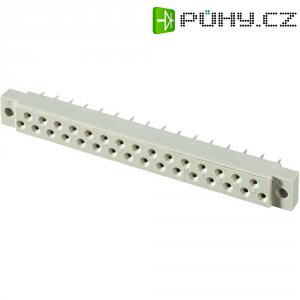 Zásuvková lišta DIN 41617, 31 pólů, 10 x 90,8 x 12 mm