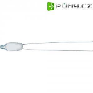 Doutnavka, 0,8 mA, 230 V, 6 x 16 mm, teplá bílá