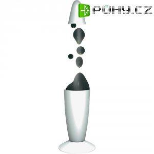 Lávová lampa, 71.852, 20 W, 340 mm, bílá/černá