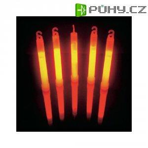 Neonová světelná tyčinka, 15 cm, červená