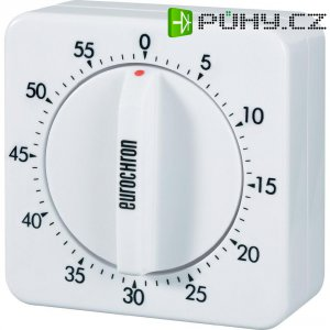 Mechanická minutka Eurochron 60 EAT 6000, bílá