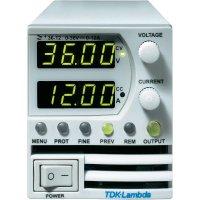 Programovatelný laboratorní zdroj TDK-Lambda Z36-12, 0 - 36 V, 0 - 12 A