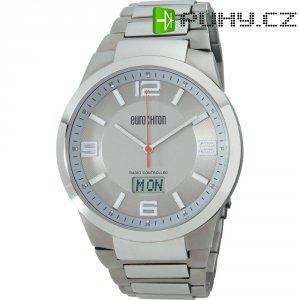 Ručičkové náramkové DCF hodinky Eurochron EFAUT 3302, titanový pásek