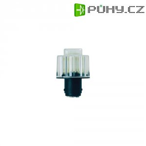 LED lampa BA 15d Werma Signaltechnik 956.400.75, 7 x 8 cm, 24 V/DC, bílá