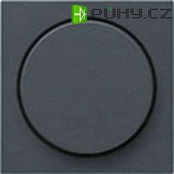 Stmívací kolečko do rámečku Gira, krytka, standard 55, antracit (065028)