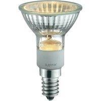 Halogenová žárovka Sygonix, E14, 20 W, 79 mm, stmívatelná, teplá bílá