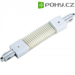 Pružná spojka SLV pro 1fázový HV kolejnicový systém 143111, 230 V, bílá