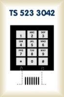 Fóliová klávesnice TS 523 3042 - 3 x 4 hmatníků