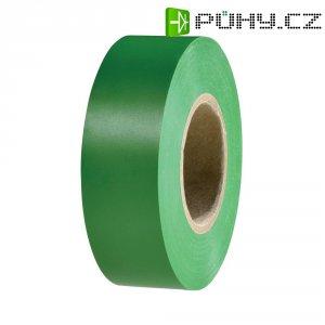 Izolační páska HellermannTyton HelaTapeFlex 15, 710-00125, 19 mm x 25 m, zelená