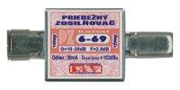 Anténní zesilovač PZ6-69 10-20dB IEC