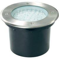 Zápustné LED podlahové svítidlo, 47 LED, 3,76 W, hliník