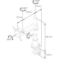 """Stolní držák monitoru Vogel`s, 38 - 68,6 cm (15\"""" - 27\"""") PFD8522"""