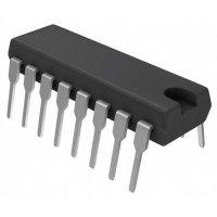 10bitový AD převodník 8kanálový Microchip Technology MCP3208-CI/P, 2,7 V, PDIP-16