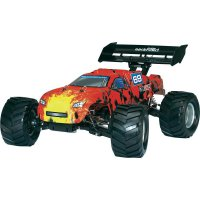 RC model Brushless Truggy Reely Rockhard II EP-250TR, 1:10, 4WD, RtR 2.4 GHz