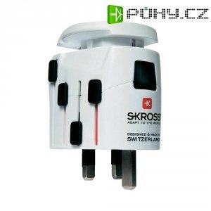 Cestovní adaptér PRO+ Skross, bílá