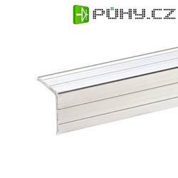 Hliníkový kryt hrany, 20 x 20 mm, délka 1 m