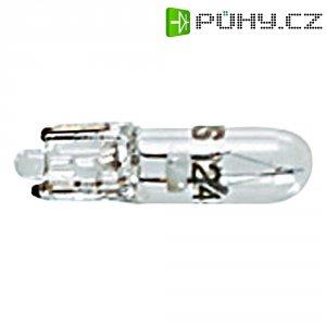 Žárovka RAFI, 12 V, W2 x 4,6d, bezbarvá