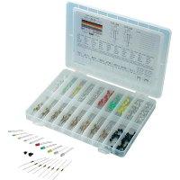 Sada LED Conrad Components STD-LEDS, typ čočky kulatý, 3 mm, 5 mm, červená, zelená, žlutá, modrá, bílá