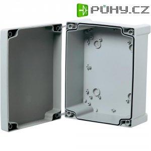 Nástěnné pouzdro ABS Fibox TAM131308, (d x š x v) 130 x 130 x 75 mm, šedá (TAM131308)