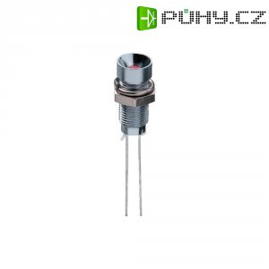 LED signálka Signal Construct SMZS 062, vnitřní reflektor LED 3 mm, zelená