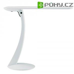 Stolní lampička MAULSwan LED 8W, bílá stmívatelná