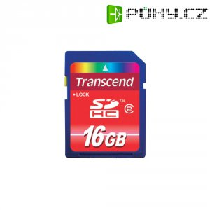 Paměťová karta SDHC Transcend 16 GB Class 2