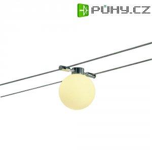 Lankové kulaté svítidlo SLV, GY6.35, hliník/sklo