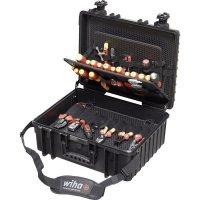 Elektrikářský kufřík s nářadím Wiha Professional 40523, 80 dílu