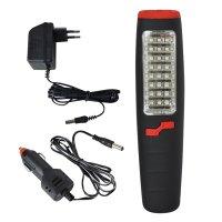 Svítilna montážní LED SN01, nabíjecí, 24+7 LED