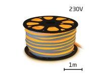 LED neon flexi hadice 230V 92LED/m 7W/m žlutá (1m)