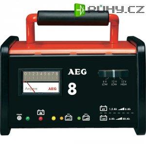 Nabíječka autobaterií AEG WM 8, 2AEG97008, 7,2/8 A, 6/12 V