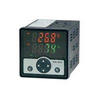 Panelový regulátor teploty a vlhkosti FOX 301, 2 A, 4 relé