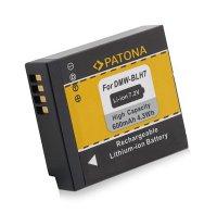 Baterie foto PANASONIC DMW-BLH7E 600mAh PATONA PT1200