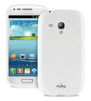 Pouzdro Samsung Galaxy S III mini, Puro Plasma, bílé