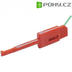 Měřicí krokosvorka Hirschmann Kleps 064 PCH, zelená