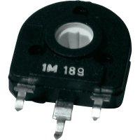 Uhlíkový trimr TT Electro, 1551025, 5 kΩ, 0,25 W, ± 20 %