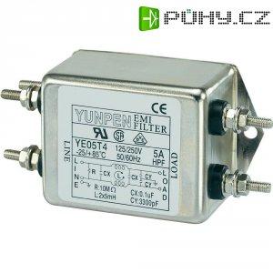 Odrušovací filtr Yunpen YE05T4, 250 V/AC, 250 V/AC, 5 A