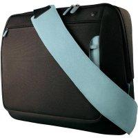 Brašna pro Notebook Belkin Kurier, černá/světle modrá