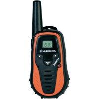 PMR radiostanice Albrecht Tectalk Smart, oranžová, 2 ks