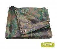 Plachta maskovací PE nepromokavá 100g/m2, 2x7m, EXTOL CRAFT 16102