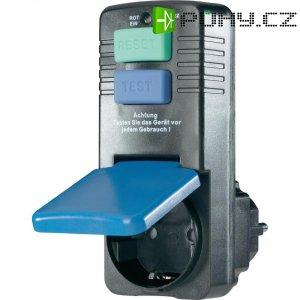 Bezpečnostní mezizásuvka, IP40, 10 mA, černá