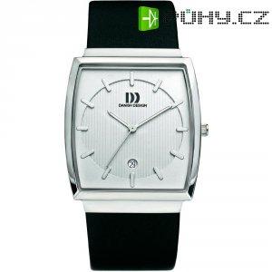 Ručičkové náramkové hodinky Danish Design, 3314377, kožený pásek