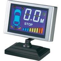 Bezdrátový parkovací systém s LCD displejem, 4 senzory