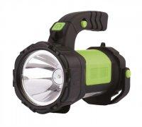 Nabíjecí svítilna LED E208A, 3W CREE + 12 LED