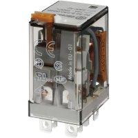 Výkonové zásuvné relé Finder 110 V/DC, 12 A, 2 přepínací kontakty, 56.32.9.110.0040, 1 ks